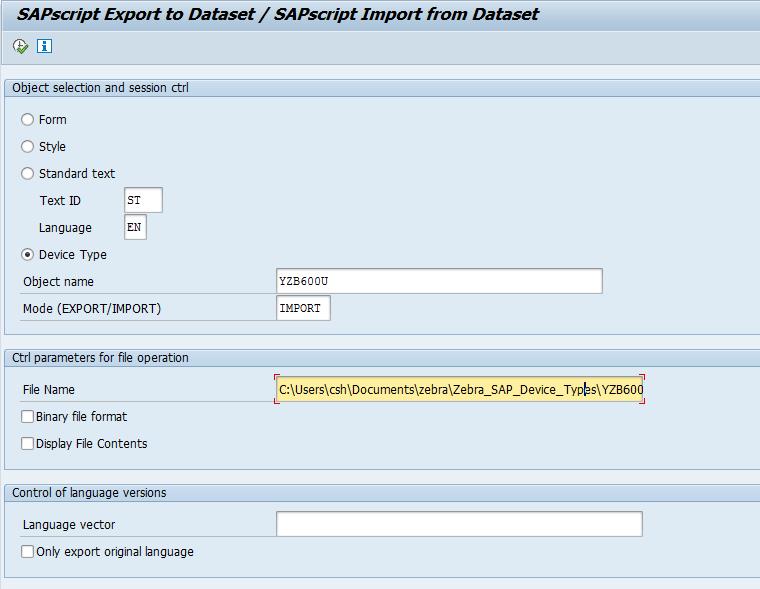Zebra virtual test printer for SAP – Just Another Blog